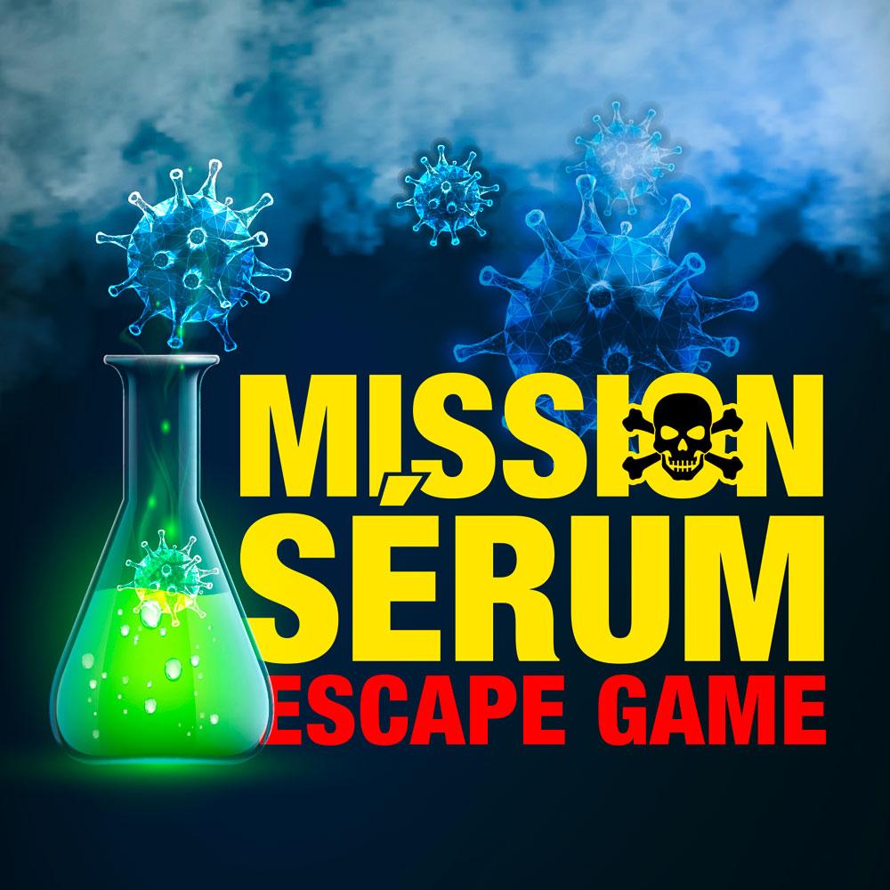 Mission Sérum Escape Game